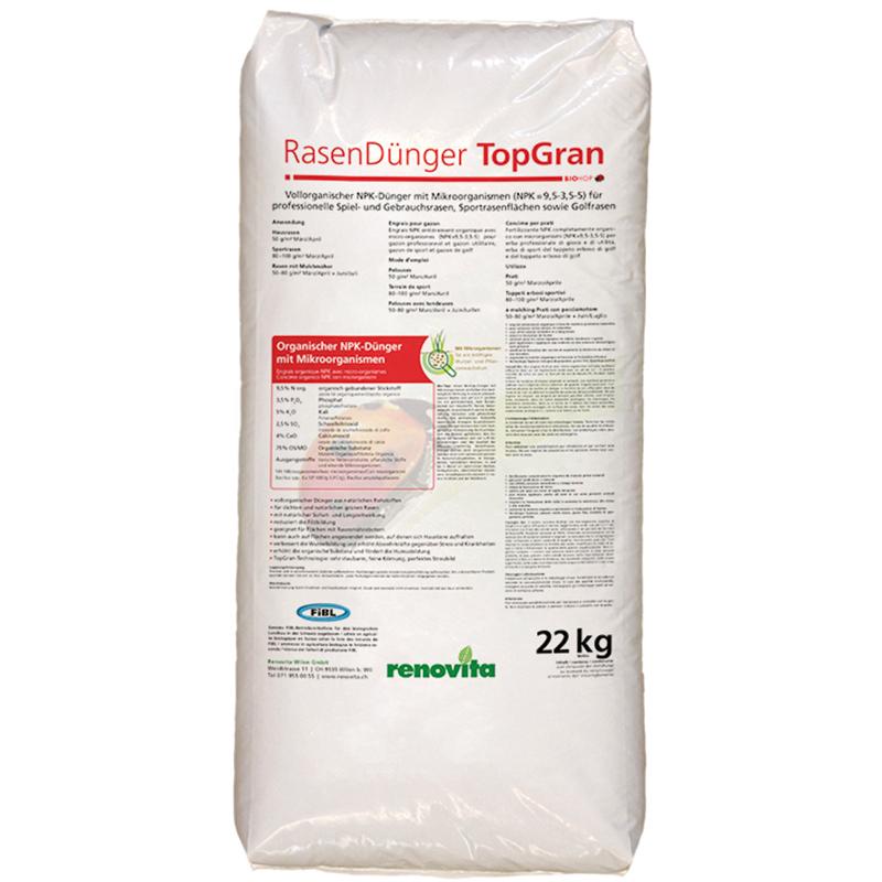 BIOHOP RasenDuenger TopGRAN