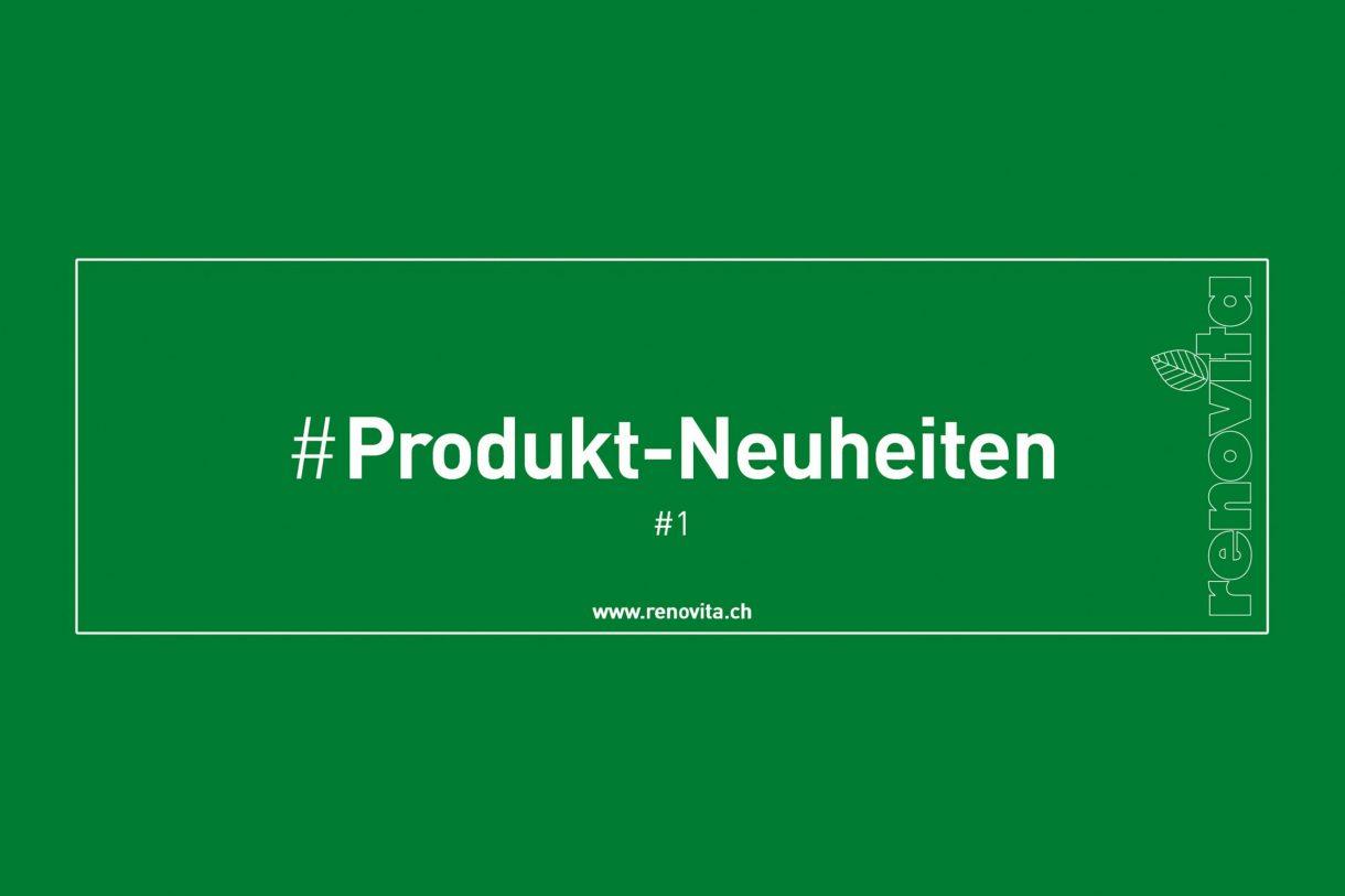 Produktneuheiten #1