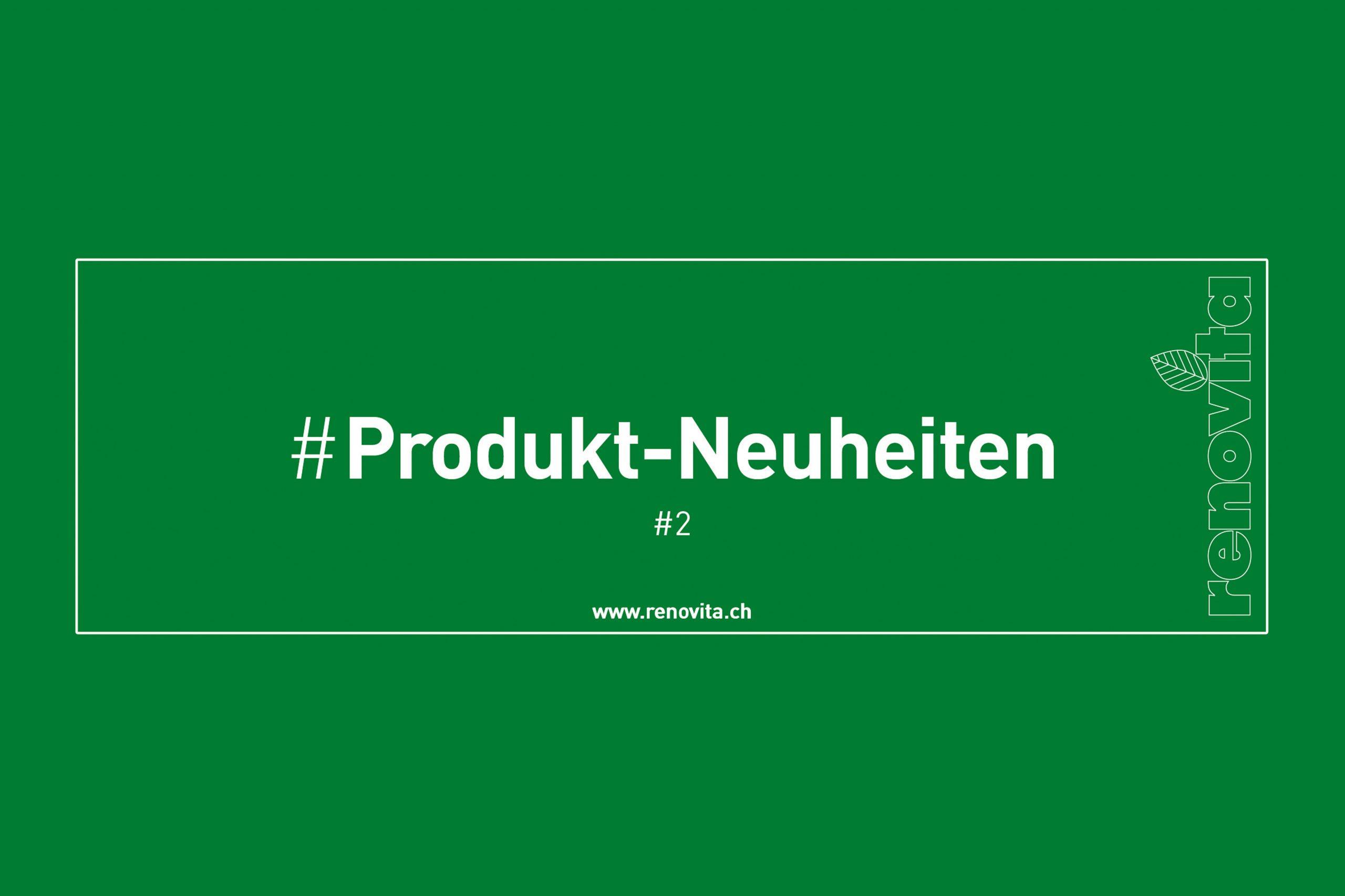 Produktneuheiten #2