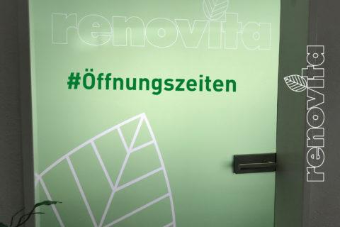 Renovita-Tür Öffnungszeiten
